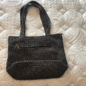 The San shoulder bag - multi colored crochet